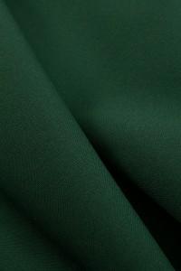 Рибана с лайкрой Темно-зеленая